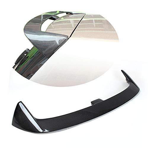 MCARCAR KIT Golf 7 Spoiler, Carbon Fiber Rear Spoiler for Volkswagen VW Golf 7 VII MK7 Non-GTI Non-R   2014 2015 2016 2017 Roof Window Wing Lip, ABT -