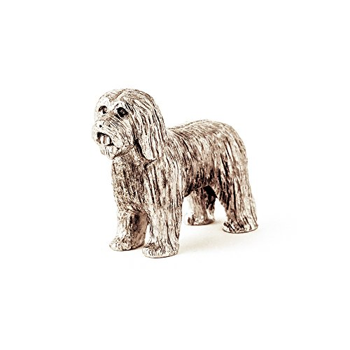 (Bearded Collie Made in UK Artistic Style Dog Figurine Collection )