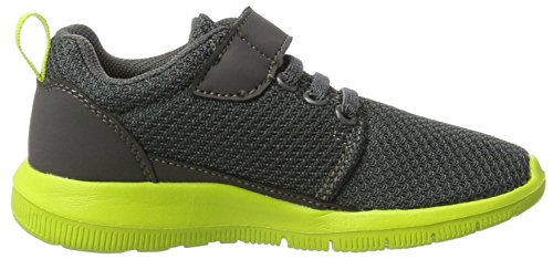 Kappa Speed 2.1 Kids - Tobillo bajo Unisex Niños Gris (1333 Anthra/lime)