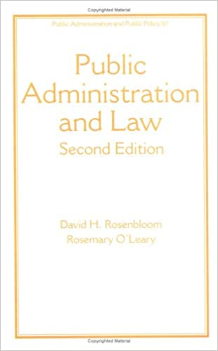 Law and Administration, Third Edition
