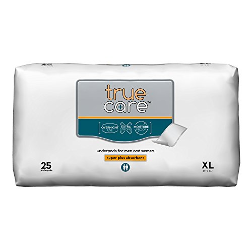 True Care Super Absorbent Incontinence Underpads, Extra Large, 30 by 36 inches, 100 Count by True Care (Image #1)