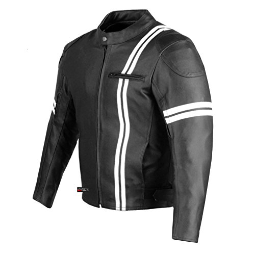 Leather Motorcyle Jacket - 4