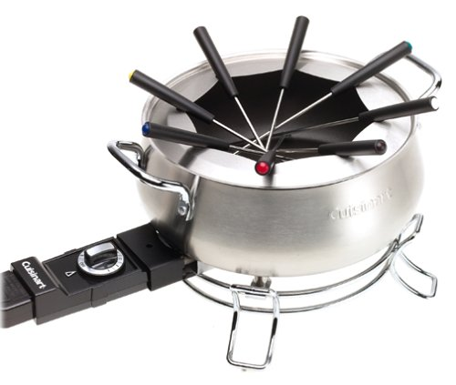 Cuisinart CFO-3SSFR Electric Fondue Maker (Renewed) (Best Way To Clean Copper Pans)