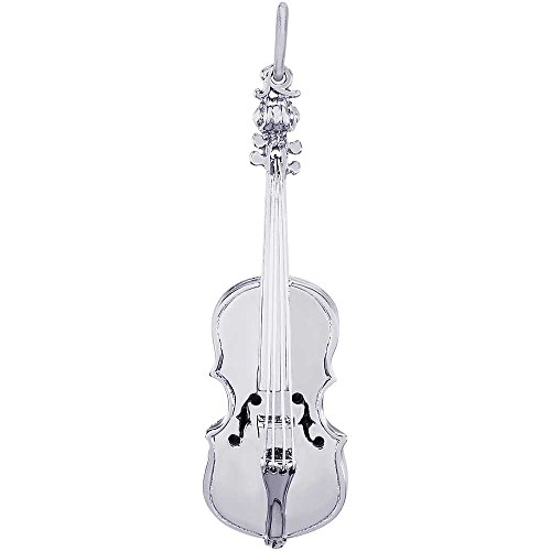Rembrandt Charms Violin Charm, Sterling Silver by Rembrandt Charms