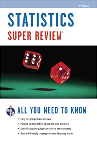 Amazoncom Statistics Super Review Super Reviews Study Guides  Statistics Super Review Super Reviews Study Guides Nd Edition
