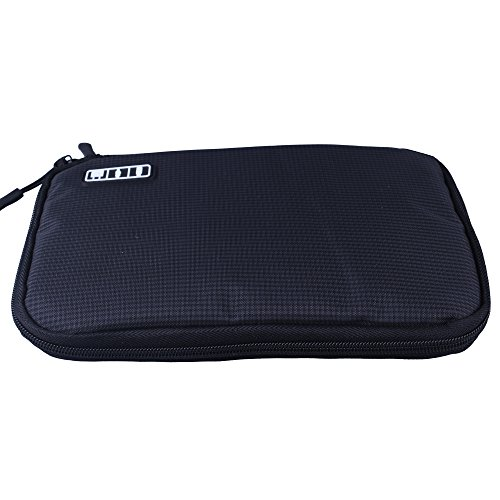 Shopper Joy Travel Electronics Cable Organizer Bag Case for Digital Accessories Devices Gadget Portable Storage Bag for Hard Drives Charger Various USB Adapter Power Bank - Black by Shopper Joy (Image #1)