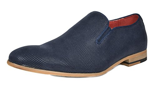 - Bruno Marc Men's CONSTIANO-8 Navy Fashion Casual Dress Loafers Shoes Size 7.5 M US