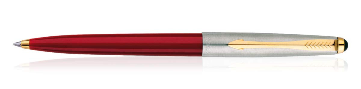 come Jotter, Classic Parker Galaxy Gt penna a sfera Gold Trim Red