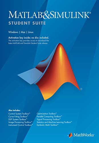 Software : MATLAB and Simulink Student Suite R2018b