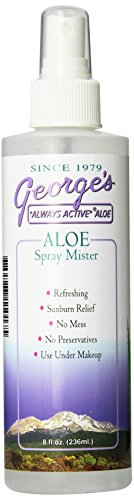 George s Aloe Vera Spray Mister, 8 Fluid Ounce