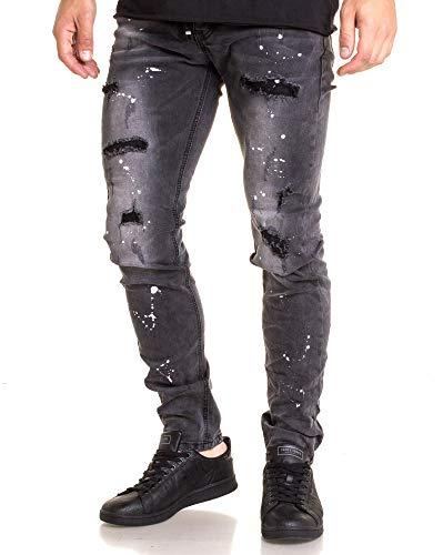Blz Jeans Blz Blz Slim Jeans Jeans Nero Nero Uomo Uomo Slim Oa5Owqr