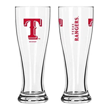 MLB Texas Rangers 2-Pack Gameday Pilsner Set