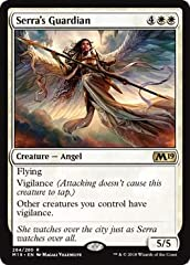 Core Set 2019 contains 280 cards (20 basic land, 111 common, 80 uncommon, 53 rare, and 16 mythic rare) and includes randomly inserted premium versions of all cards. 25 additional cards are found in the set's planeswalker decks. These are numb...