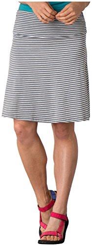 Toad&Co Women's Chaka Skirt, Smoke Stripe MD (US 8-10)