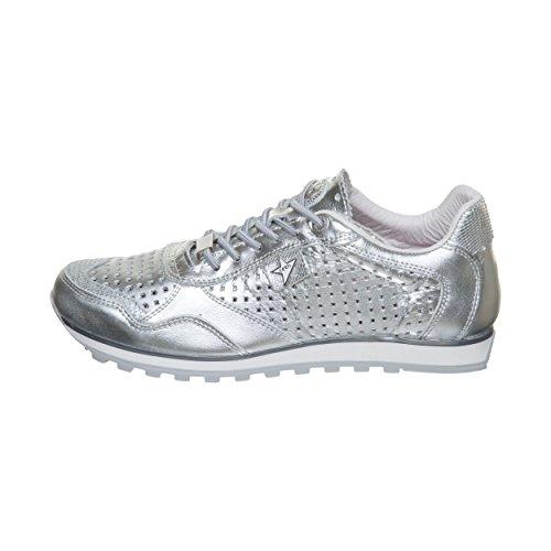 Espego Women's Silver Lux C848 Rosa Trainers SRA Blanc Cetti pIx6wdqzz