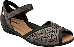 Earth Women's Pangea Black Soft Leather Shoe