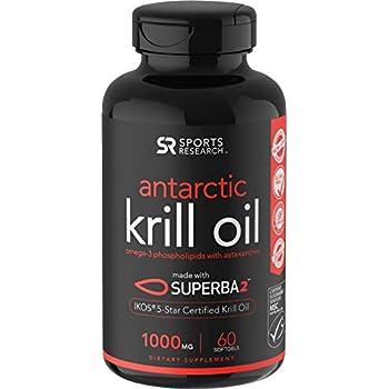 ba1c00db1b2 Antarctic Krill Oil (Double Strength) with Omega-3s EPA