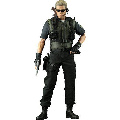 Sideshow Collectibles Hot Toys Video Game Masterpiece Resident Evil 5 12 Inch Deluxe Figure Albert Wesker S.T.A.R.S. Version by Hot Toys (Hot Toys Wesker compare prices)