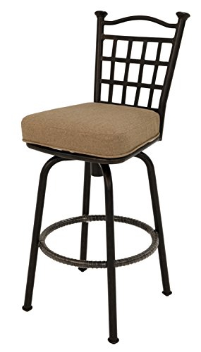 Pastel BP-233-AR-905 Bay Point Outdoor Barstool, Autumn (Point Aluminum Bar Stool)