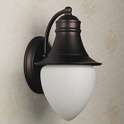 TOYM UK Nordic Außenhof Fassade einfache Terrasse Terrasse Gang Pavillon Weintraube Einzelne Kopfwand Lampe