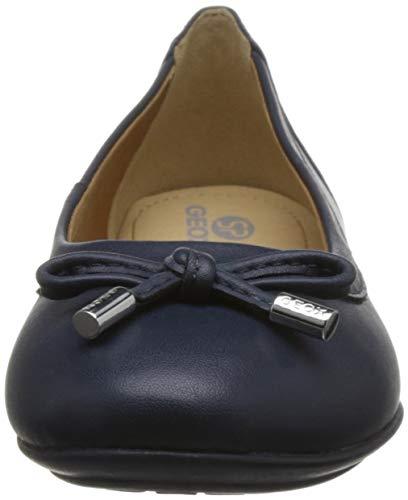 Charlene Ballerines Classiques d'été Ballerines Dame Femme Arc Geox Chaussures Ballerines Loisirs D84Y7A Élégant Dunkelblau HCqffwg