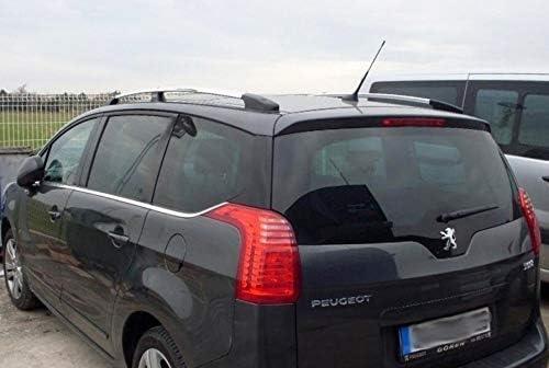 Dachreling Passend Für Peugeot 5008 Baujahr 2008 2017 In Chrom Optik Mit TÜv Und Abe Auto