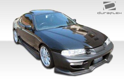 Duraflex ED-YFN-154 Vader Front Bumper Cover - 1 Piece Body Kit - Compatible For Honda Prelude - Rear Bumper Duraflex Vader Lip