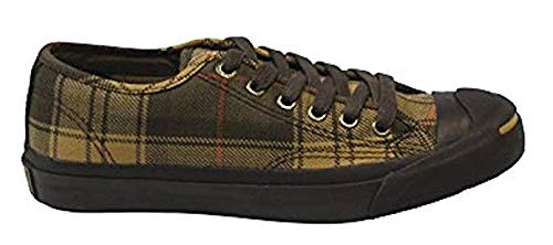 Converse 3 men's 1v862 5 Jack Women's Purcell Unisex Adirondack 5 Plaid Olive Ox zr8qz