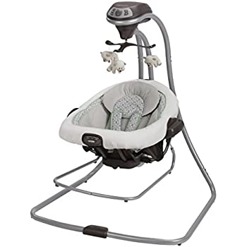 Amazon Com Graco Duet Connect Lx Swing Plus Bouncer Zander Baby