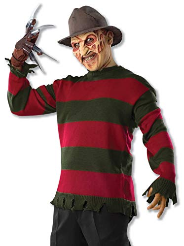 Forum Novelties Adult's Standard Freddy Sweater-std, Multi -