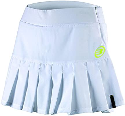 Bull padel Bonella - Falda para Mujer, Color Blanco, Talla XL ...