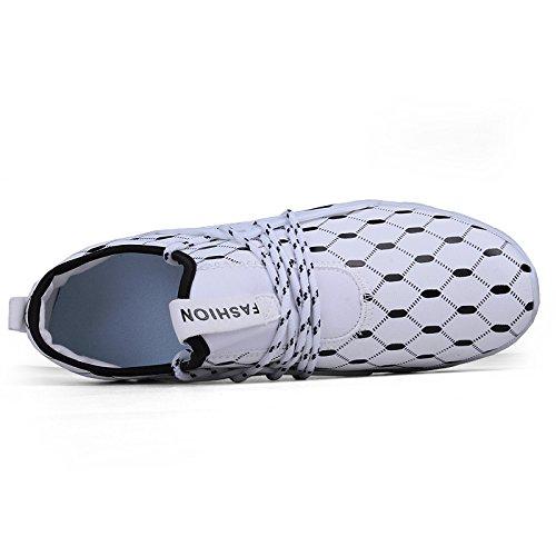 Sports En Chaussures D'été Mens Blanc Thicker Bluelover 5 Caoutchouc Respirante Souple De 7 Running Mode Bottom Sport wqtH55