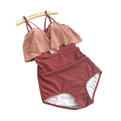 Adatto Wading Bagno Il Conservative Size Hot M Spa Nuoto Per Costume Bretelle Intero Spring Sports Siamese Costumi Donna Da Y7WqxPwTg6
