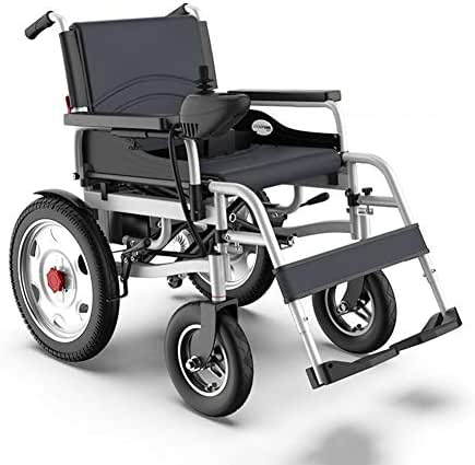 AVKL Wheelchair, Electric Wheelchair Foldable Lightweight Elderly Scooter Elderly Disabled Intelligent Four Wheeled Scooter