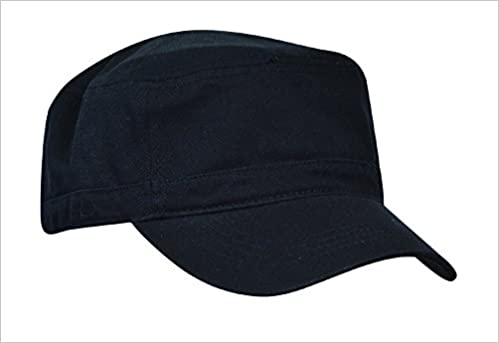 cfd375c2d9e Amazon.com  KC Caps Unisex Washed Cotton Twill Adjustable Army Military  Cadet Cap Black  Books