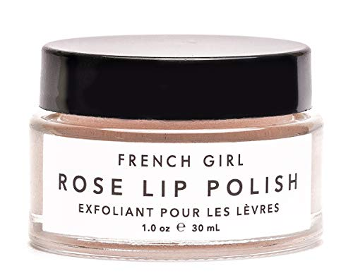 French Rose - French Girl Organics - Organic/Vegan Rose Lip Polish (1 oz / 30 ml)