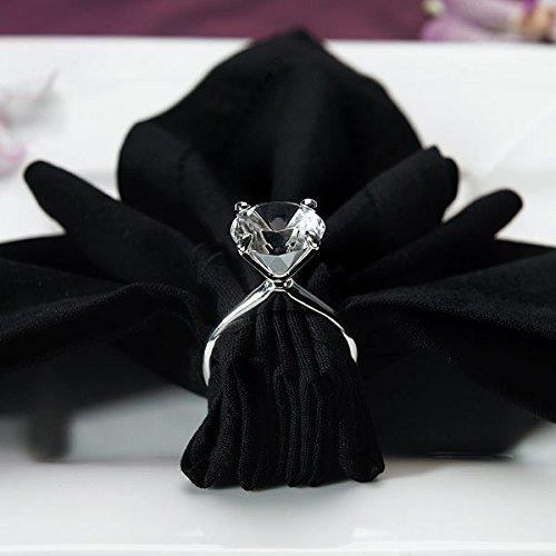 Diamond Wedding Reception Napkin Holder (Set of 2)