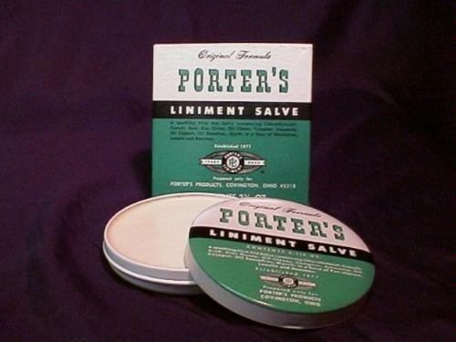 Special pack of 5 Porter's Liniment Salve 2 oz X 5 by Med-Choice