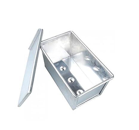 Kingstons - Caja rectangular de aluminio para hornear pan de molde ...