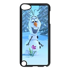 iPod Touch 5 Phone Case BLack Frozen Olaf NF4150979