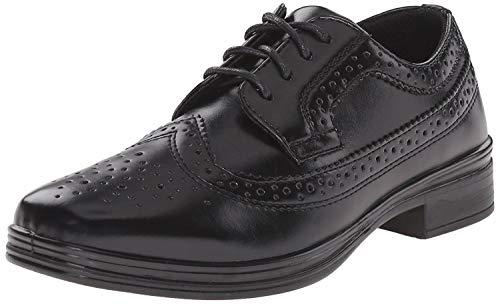 Deer Stags Boys' ACE-K, Black, 6.5 M US Big Kid (Black Dress Shoes For Boys)