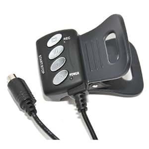 JJC Reemplazo de Sony RM-AV2 control remoto para Sony Handycam HDR-CX6EK, HDR-CX11E, HDR-CX105E, HDR-CX115E, HDR-CX155E, HDR-CX190E, HDR-CX210E, HDR-CX250E, HDR-CX305E, HDR-CX350VE, HDR-CX520VE, HDR-CX580VE, HDR-CX700VE, HDR-CX730E, HDR-FX1000E, HDR-HC3E, HDR-HC5E, HDR-HC7E, HDR-HC9E, HDR-PJ10E, HDR-PJ200E, HDR-PJ260VE, HDR-SR1E, HDR-SR5E, HDR-SR7E, HDR-SR8E, HDR-SR10E, HDR-SR11E, HDR-SR12E