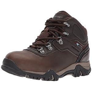Hi-Tec Unisex-Kids Altitude VI Jr Waterproof Hiking Boot, Dark Chocolate, 4 Medium US Big Kid