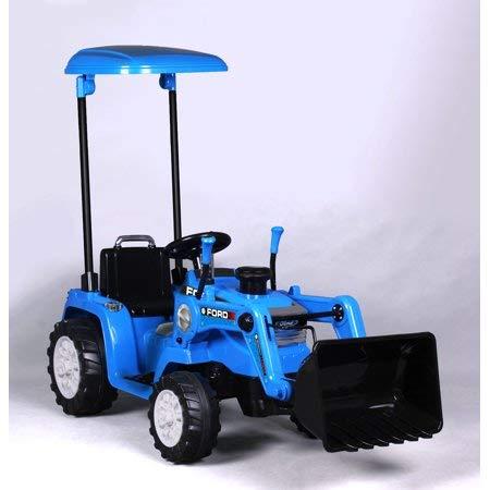 Amazon.com: Tractor Ford de 12 V con pilas, funciona con ...