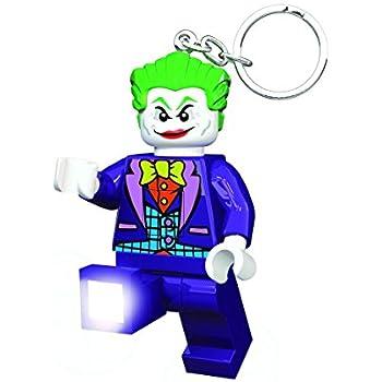 LEGO Keychain DC Comics Universe mini-figure key chain lot 2 Batman /& The Joker