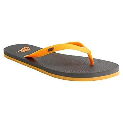 premium selection a1ced 09434 Nike Men's Laser Orange/Dark Grey Flipflops and House ...