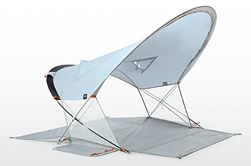 Terra Nation Roa Kohu Beach Tent - 2-3 Person - Easy Setup - 98% UV Protection (UPF 50+) (Blue)