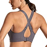 SYROKAN High Impact Sports Bras for Women Wirefree