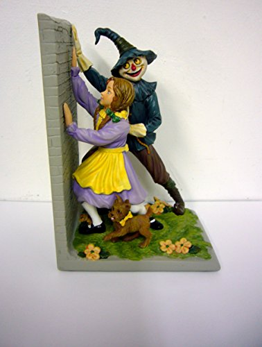 (Wizard of Oz Bookend Dorothy Toto Scarecrow)