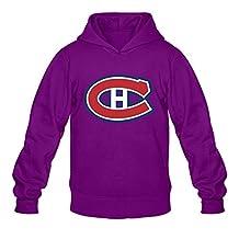Men Montreal Canadiens Personalized 100% Cotton Size L Color Purple Hoddies By Mjensen